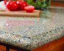 VT Silestone Blue Sahara Quartz Top