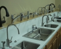 Assorted Kitchen Sinks And Faucets