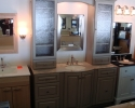 Omega Lexinton Vanity Ensemble In Portabello Finish