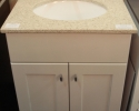 Omega Renner Vanity In Maple Magnolia Finish
