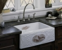 Kohler Alcott Game Birds Design Sink