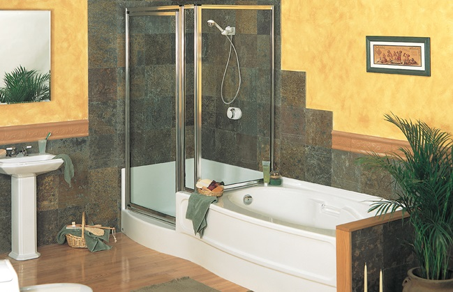 Maax Tub Shower Combo One tub shower combo 3 different