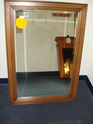 Kentwood Antique Honey Maple Mirror